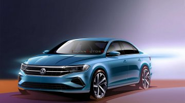 Next-gen VW Vento teased - Specs & features revealed