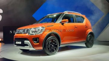 2020 Maruti Ignis (facelift) unveiled, pre-bookings open - Live From Auto Expo 2020 [Update]