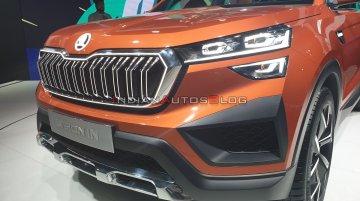 Skoda Vision IN premium SUV (Hyundai Creta rival) - Live From Auto Expo 2020