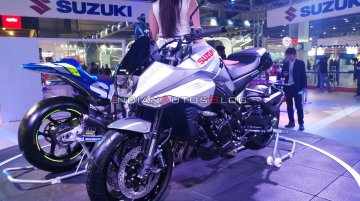 Suzuki Katana makes Indian debut - Live From Auto Expo 2020