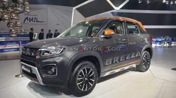 2020 Maruti Vitara Brezza (facelift) petrol unveiled - Live From Auto Expo 2020 [Update]