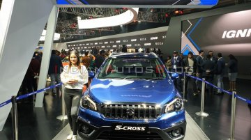 Maruti S-Cross petrol revealed - Live from Auto Expo 2020