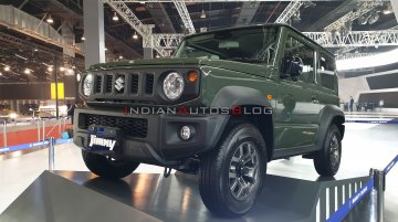 Suzuki Jimny Sierra debuts in India - Live From Auto Expo 2020 [Update]