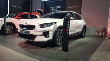 Kia XCeed (Kia Ceed-based CUV) makes Indian debut