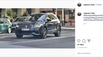 2020 VW Tiguan (facelift) leaked, coming to India after Allspace?