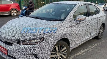 Indian-spec 2020 Honda City with beige interior spied, to be unveiled in March