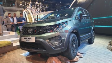 Tata Hexa Safari Concept - Live From Auto Expo 2020