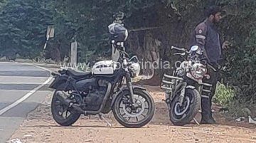 More affordable version of next-gen Royal Enfield Thunderbird 350X spied again