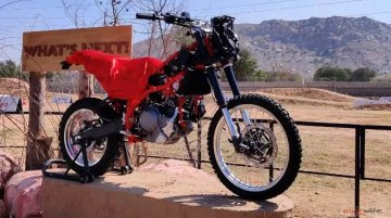 Hero Motocorp reveals sub-500cc ADV prototype
