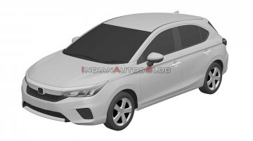 Honda City Hatchback (5-door Honda City) coming this year, design leaked