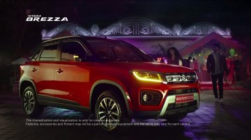 2020 Maruti Vitara Brezza (facelift) launched, priced from INR 7.34 lakh [TVC inside]