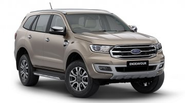 BS-VI 2020 Ford Endeavour with 2.0L diesel engine & 10-speed AT launched