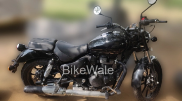 Royal Enfield Meteor design & instrument cluster detailed in new spy shots