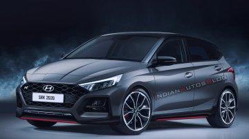 200 PS+ Hyundai i20 N hot hatch - IAB Rendering