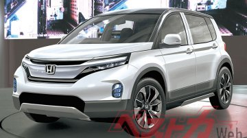 This upcoming Honda SUV probably isn't the for-India sub-4 metre model - Report