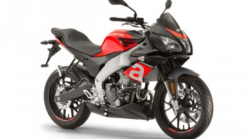 Aprilia Tuono 125 listed on Aprilia India website