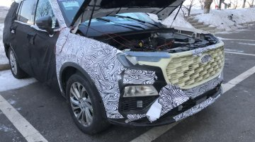 2021 Ford Endeavour (2021 Ford Everest) spied - Interior & suspension revealed