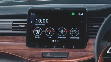 Suzuki Ertiga (Maruti Ertiga) gets 10-inch touchscreen infotainment system