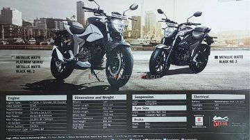 BS6 Suzuki Gixxer 250 brochure leaked, complete specs revealed