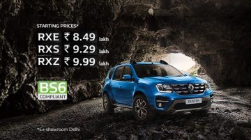 Renault Duster BS6 launched, prices start at INR 8.49 lakh