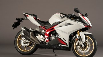 Honda CBR250RR gets a new colour scheme in Japan