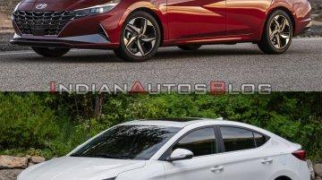 2021 Hyundai Elantra vs. 2019 Hyundai Elantra - Old vs. New