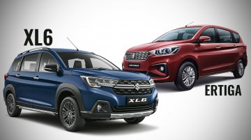 Maruti XL6 vs. Maruti Ertiga - Maruti Suzuki's MPV twins compared