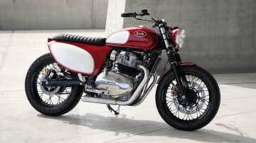 Custom Royal Enfield Interceptor 650 by BAAK is a gorgeous 50's bike [Video]