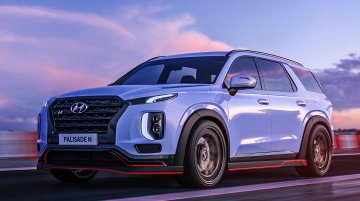 The Hyundai Palisade N is Namyang's craziest SUV to the date