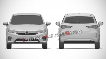 Exclusive: New Honda City Hatchback patent images leaked