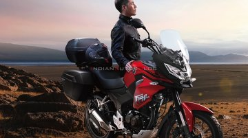New Honda CBF190X launched in China - IAB Report