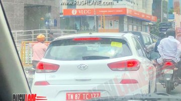 Hyundai i30 continues testing components in India, Local launch ruled out [Update]