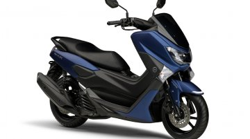 Matte Blue Yamaha NMax 125 cc maxi-scooter launched in Japan