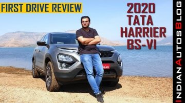 2020 Tata Harrier XZ+ and XZA+ Driven | Test Drive Review | Hindi