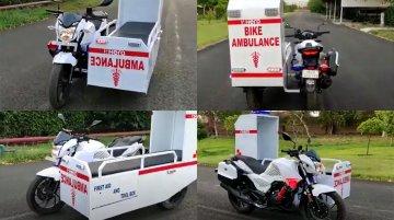 Hero Xtreme ambulance revealed, detailed in a walkaround video
