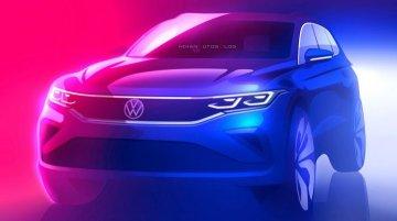 Volkswagen ने जारी किया VW Tiguan (फेसलिफ्ट) का पहला टीजर