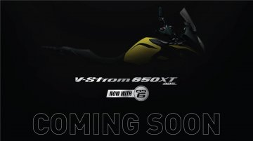 Suzuki V-Strom 650 XT BS6 teased, to be launched soon - IAB Report