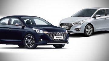 2020 Hyundai Verna vs. 2017 Hyundai Verna - Old vs. New