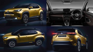 Toyota Yaris Cross revealed - Japan & Europe's Toyota RAV4-inspired small SUV [Update]