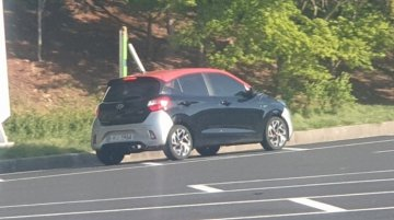 Camou-free Hyundai i10 N Line spotted in the wild for the first time