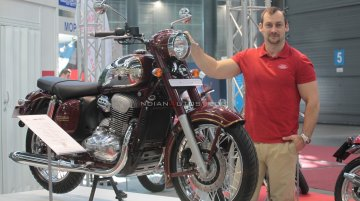 India-made Jawa Classic export to European markets begins