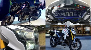 Suzuki GSX-S300 (Haojue DR300) detailed in live images ahead of launch