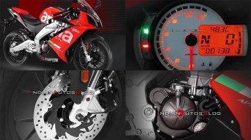 Aprilia GPR150 ABS revealed, priced at INR 2.45 lakh in China