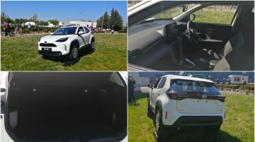 First Toyota Yaris Cross real-life images surface online