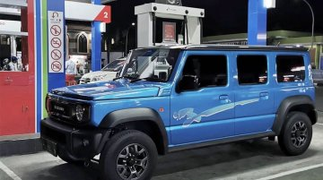 This is how 2021 Maruti Gypsy (5-door Suzuki Jimny) could look like in real life