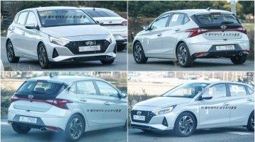 बिना कवर के 2020 Hyundai i20 स्पष्ट रूप से दिखी, जानें खासियत