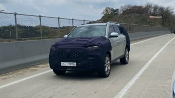 New SsangYong Rexton (facelift) spied, to spawn new Mahindra Alturas (facelift)