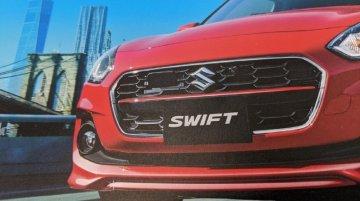 नई 2020 Maruti Swift का फेसलिफ्ट अवतार, ब्रोशर विदेश से लीक