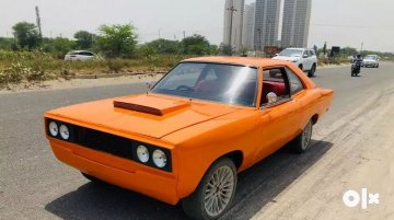 Hindustan Contessa modified to mimic Dodge Challenger muscle car