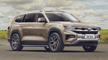 रेंडरिंगः VW Amarok होगी Toyota Fortuner के टक्कर की एसयूवी